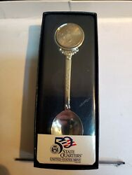 United States Mint Wyoming State Quarter Spoon Brand New In Box Nice