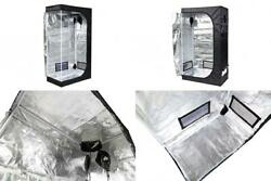 iPower GLTENTXS2 Hydroponic Water-Resistant, Grow Tent, Black Tent