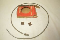 1942-49 Gm Cadillac Emergency Parking Brake Cable Antique Vintage Bx1104 Nors