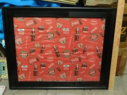 Coca-cola Go Refreshed There's Nothing Like A Coke [framed Fabric Cloth]