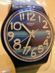 Swatch Watch Swiss Made A G 2012 On Dial 1 T 0 7 On Back