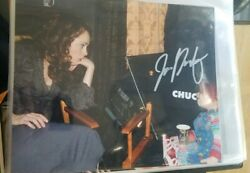 Cult Of Chucky Fiona Dourif Signed 8x10 Childs Play Guarenteed To Pass Any Tpa