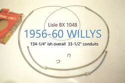 1956-60 Willys Lisle Emergency Parking Brake Cable Bx 1048 61048 Left Right Nors