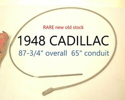 1948 Cadillac Lisle Bx 1108 Hand Emergency Parking Brake Cable Nors Nos