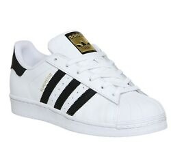 *NEW ADIDAS ORIGINALS SUPERSTAR MEN#x27;S SHOES C77124 WHITE BLACK ALL SIZES