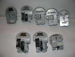 Lot 8 Duncan Technolgies Parking Meter Inserts For Change Money. Free Shipping