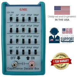 Gme Capacitance Decade Box Capacitor Substitution ✔ 100pf11111uf ✔usa Warranty