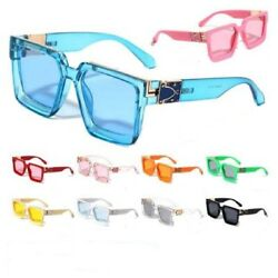 Oversized Square Big Thick Royale Evidence Millionaire Luxury Hip Hop Sunglasses $12.95