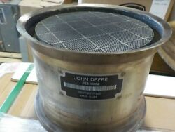 John Deere- Dpf- Diesel Particulate Filter Cleaned And Tested Re545852