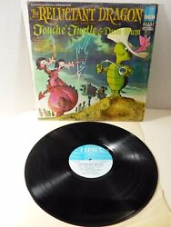 Soundtrack The Reluctant Dragon Starring Touche Turtle And Dum-dum Lp Vinyl Record