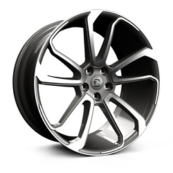 22 Hawke Falkon Grey Polish Alloy Wheels/tyres For Range Rover Vogue And Sport