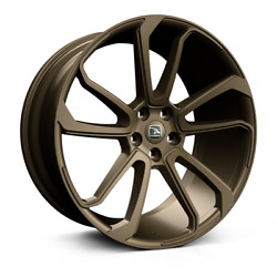 22 Hawke Falkon Bronze Alloy Wheels And Tyres For Range Rover Vogue And Sport