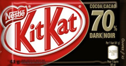 Nestle Kit Kat Dark 70% Cocoa Chocolate Bars 48 bars Canadian