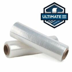 30 X 9000' Stretch Wrap 47 Gauge Ultimate Force Machine Film Pallet Of 20 Roll