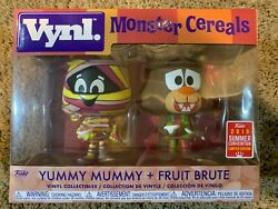 Funko Vynl Ad Icons Monster Cereals - Yummy Mummy + Fruit Brute Sdcc 2018