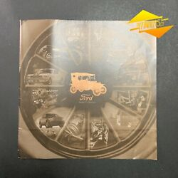Ford Model T 100 Year Centenary Fold Out Poster Brochure Automobilia