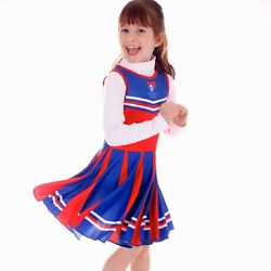 Nrl Cheerleader Dress - Newcastle Knights - Girls Footy Suit Toddler Kid