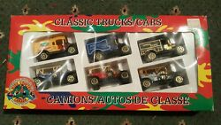 Kids Country Canada Die Cast Metal Toy Classic Trucks/cars Set
