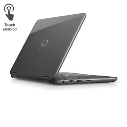 New Dell 11.6 Inspiron Intel N3710 4g Ram 500gb Hdd Touch 2-in-1 Notebookgray