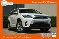 2018 Toyota Highlander Limited 2017 DealerRater Texas Used Car Dealer of the Year! Come See Why!