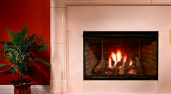 Majestic Reveal 36 B-vent Gas Fireplace 40,000 Btu's Free Shipping - Rbv4236it