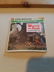 Disney's Winnie-the-pooh View-master, 3 Reel Packet B 362, Excellent Condition