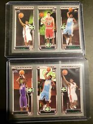 2003-2004 Topps M3 Rookie Card Pair Lebron James. Carmelo Anthony. Bosh. Hinrich