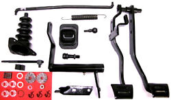 68 69 70 Chevelle 4 Speed Standard Shift Clutch Brake Pedals And Linkage W/fork