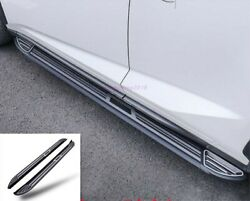 Stainless Side Pedal Step Board Foot Board Trim For Lexus Rx300 450h 2016-2019