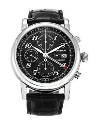 MONTBLANC Star Chronograph GMT Automatic Men's Watch 102135