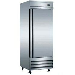 Reach-in 1-door 404 Stainless Steel Interior And Exterior Refrigerator Xcfd1rr-hc