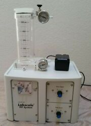 Millipore Labscale Tff Tangential Flow Filtration W/ Reservoir And Power Adapter