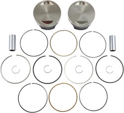 Wiseco Pro- Lite Forged Light Weight Piston Kit W/ Rings Pins K1757 Made In Usa