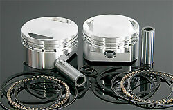 Wiseco Pro- Lite Forged Light Weight Piston Kit W/ Rings Pins K1660 Made In Usa