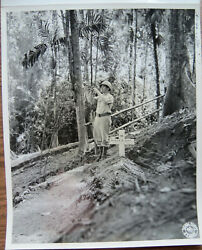 Wwii Photo George Arkle Plays Taps By Grave Maj Ralph Tilt Killed In Action Burm