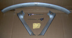 1952 1953 1954 1955 Lincoln Convertible Windshield Moldings And Sunvisor Brackets