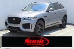 2020 Jaguar F-Pace 25t Checkered Flag Limited Edition 2020 Jaguar F-PACE 25t Checkered Flag Limited Edition 12 Miles Eiger Grey Metall