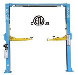 2 Post Car Lift | 10000 Lbs | Etl And Csa Approved