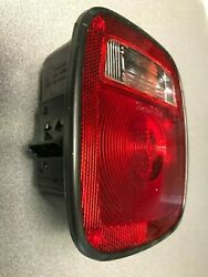 5014y102 Signal-stat 5x 6 Red/clear Rectangular Stud Mount Tail Light New