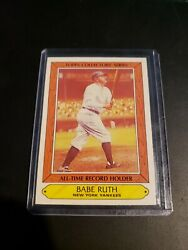 1985 Topps Collector's Series 31 Babe Ruth New York Yankees Nmmt
