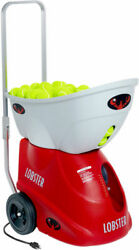 Serving Machine AC/DC Power allows for unlimited Tennis Ball Practice Portable