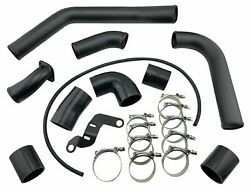 Intercooler Charge Pipe Piping Kit For 08+ Lancer Evolution 2.0l Evo X 10 4b11t