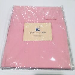 New Pottery Barn Kids Pink Loop Top Window Valance 100 Cotton - 5 Available