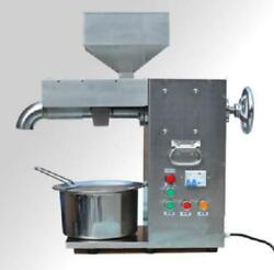 30kg/h Commercial Electric Hot And Cold Oil Press Machine Stainless Steel T