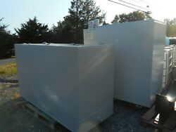 500 gallon double walled waste oilfuel oil storage tank