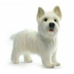 Hansa West Highland Dog Collectible Plush White 20 31525 fromJAPAN