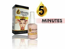 5 Minutes Instant Lift Plastic Surgery In A Bottle Large Pores Sagging Tighten