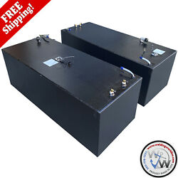 Sea Vee - 2 X 98 Gal. Oem Replacement Bow Fuel Tanks Combo Kit By Welding World