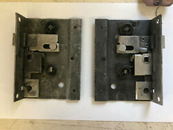 N.o.s. L And R 1942 1946 1947 1948 Ford And Merc Woodie Wagon Rear Door Latches Pair