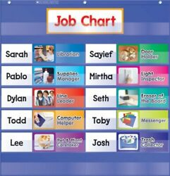 Durable Job Cart With 10 Job Cards 2 Blank Cards And 2 Title Cards - Blue